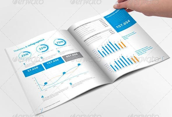 Free Annual Report Template Indesign 20 Professional Indesign Annual Report Templates