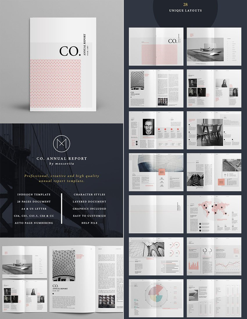 Free Annual Report Template Indesign 25 Annual Report Templates with Awesome Indesign Layouts
