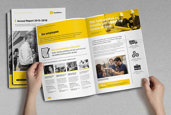 Free Annual Report Template Indesign 40 Best Corporate Indesign Annual Report Templates – Bashooka