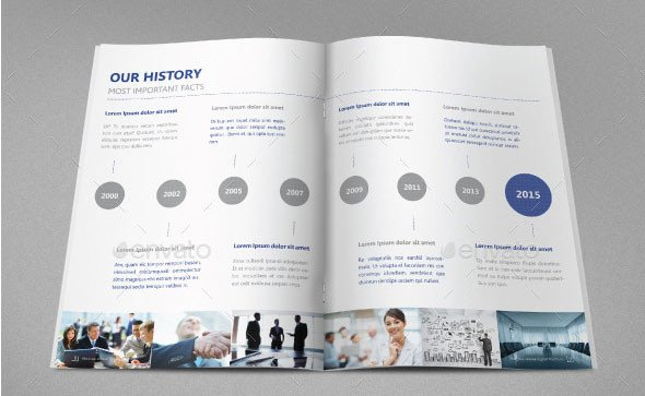Free Annual Report Template Indesign 40 Best Corporate Indesign Annual Report Templates