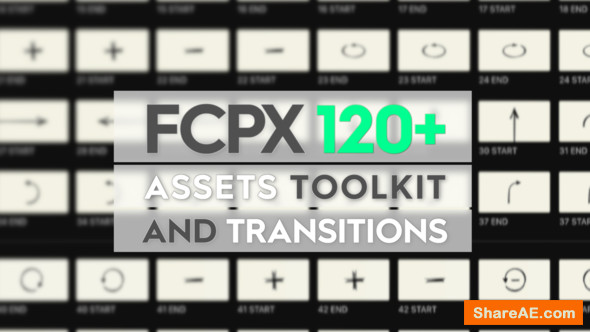 Free Apple Motion Templates Videohive Fcpx assets toolkit and Transitions Free after