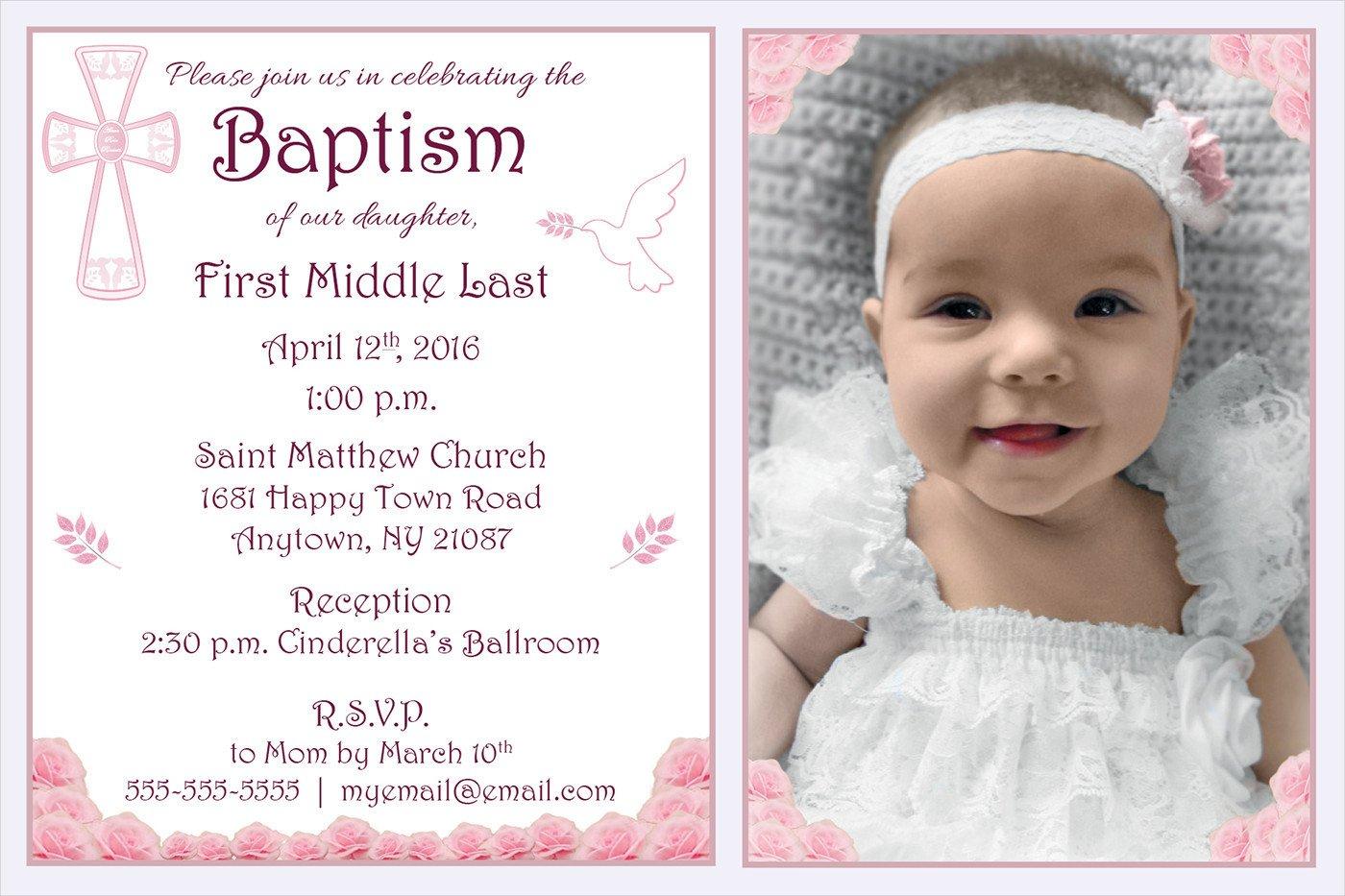 Free Baptism Invitation Templates 10 Baptism Invitation Templates