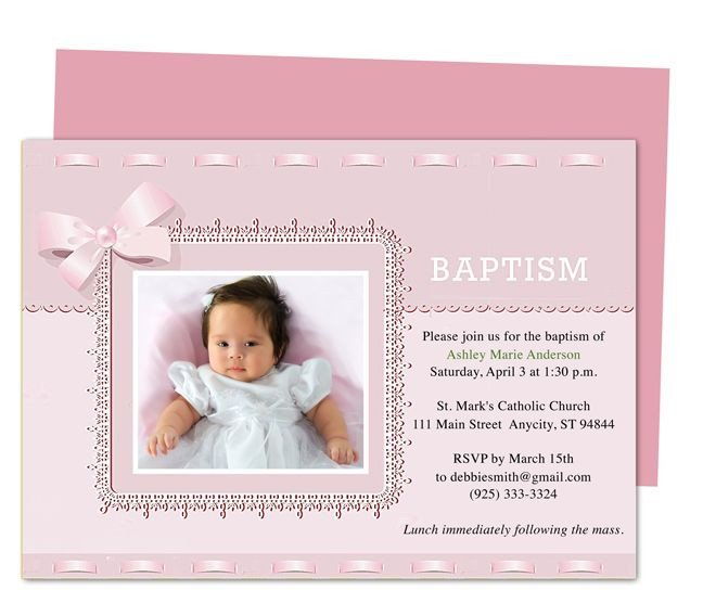 Free Baptism Invitation Templates 10 Best Images About Printable Baby Baptism and
