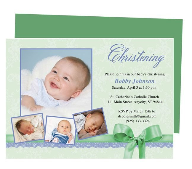 Free Baptism Invitation Templates 21 Best Printable Baby Baptism and Christening Invitations