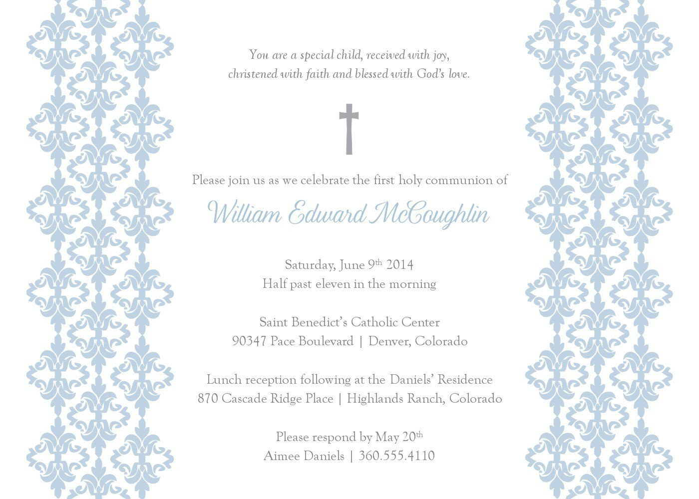 Free Baptism Invitation Templates Baptism Invitation Template Baptism Invitation Card