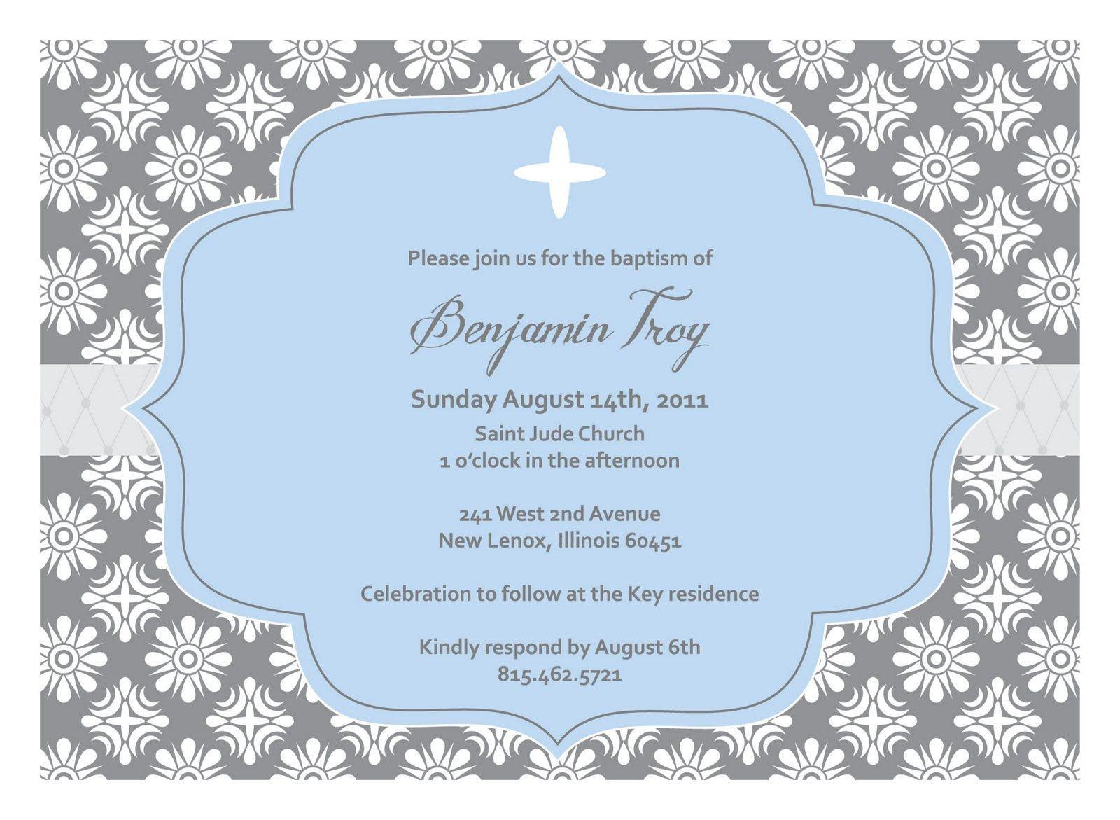 Free Baptism Invitation Templates Baptism Invitation Template Baptism Invitation Template