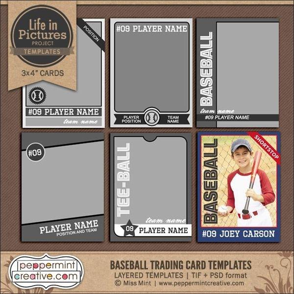 Free Baseball Card Template Best 25 Trading Card Template Ideas On Pinterest