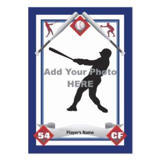 Free Baseball Card Template How to Make A Baseball Card Template Ehow
