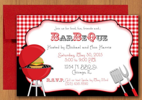 Free Bbq Invitation Template 32 Barbeque Invitation Templates Psd Word Ai
