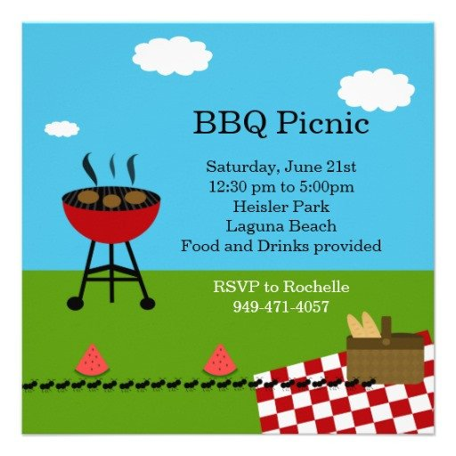 Free Bbq Invitation Template Bbq Party Invitation Templates Free