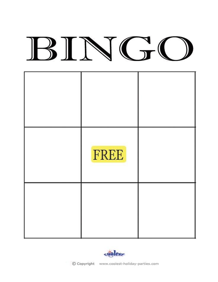 Free Bingo Card Template Best 25 Blank Bingo Cards Ideas On Pinterest