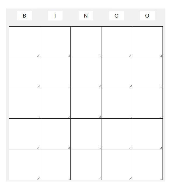 Free Bingo Card Template Blank Bingo Template 14 Free Psd Word Pdf Vector Eps