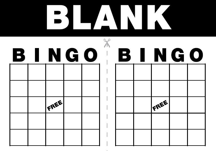 Free Bingo Card Template Lucky Lady Games Free Bingo Cards