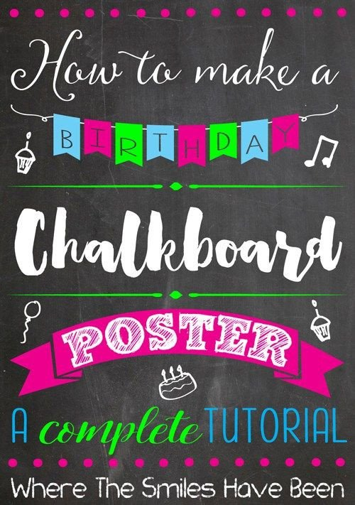 Free Birthday Chalkboard Template 50 More Fabulous and Free Chalkboard Fonts