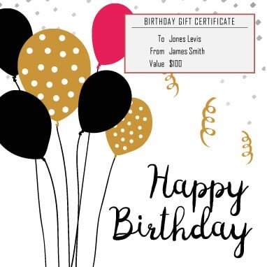 Free Birthday Gift Certificate Template 13 Free Printable Gift Certificate Templates [birthday