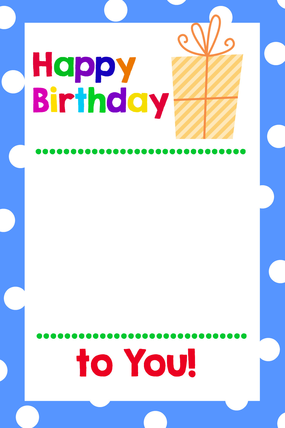 Free Birthday Gift Certificate Template Printable Birthday Gift Card Holders Crazy Little Projects