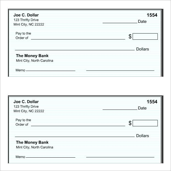 Free Blank Check Template Pdf 27 Blank Check Template Download [word Pdf] Templates