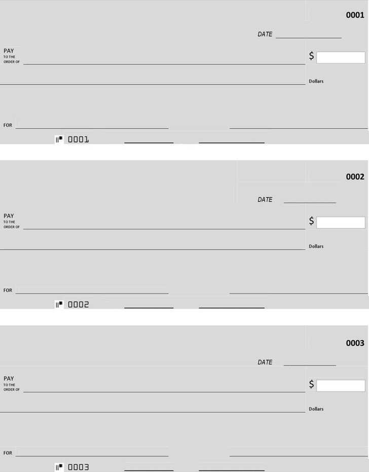 Free Blank Check Template Pdf 27 Blank Check Template Free Download
