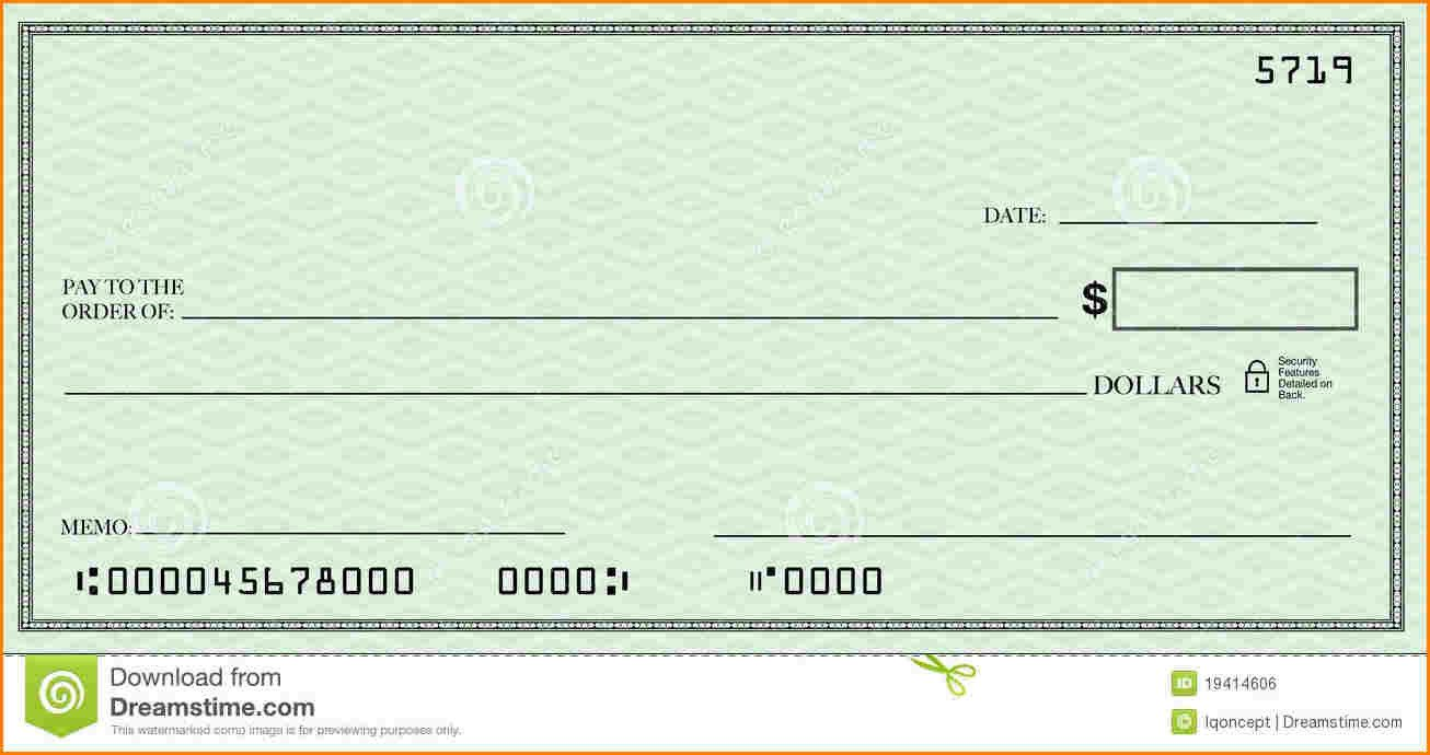 Free Blank Check Template Pdf Blank Check Template