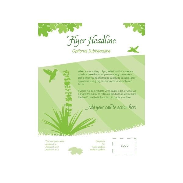 Free Blank Flyer Templates Blank Brochure Template Free