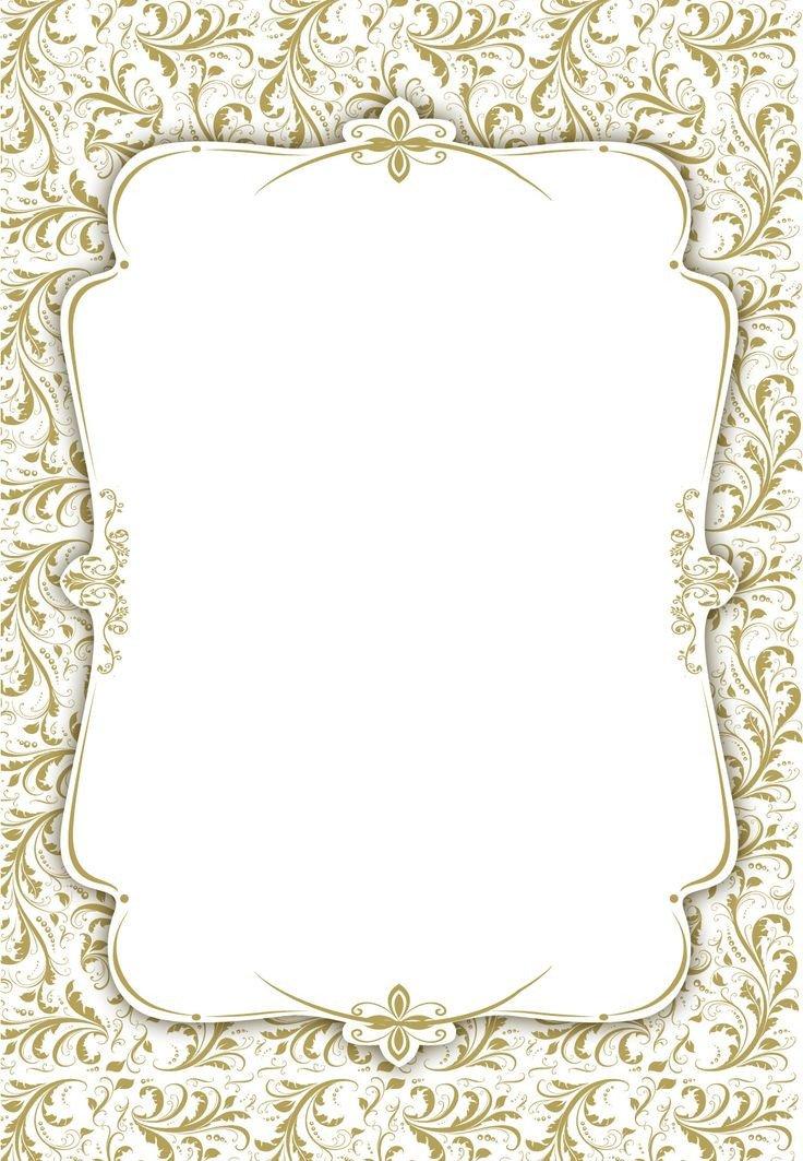 Free Blank Invitation Templates Tasteful Tapestry Frame Free Printable Wedding