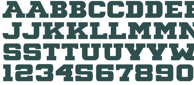 Free Block Letter Font 14 Font Letters Vine Monogram