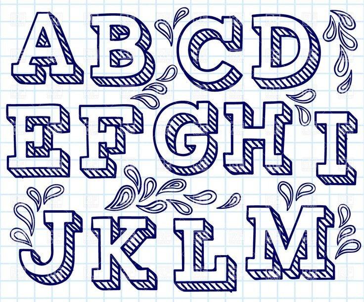 Free Block Letter Font 25 Best Ideas About Block Letter Fonts On Pinterest