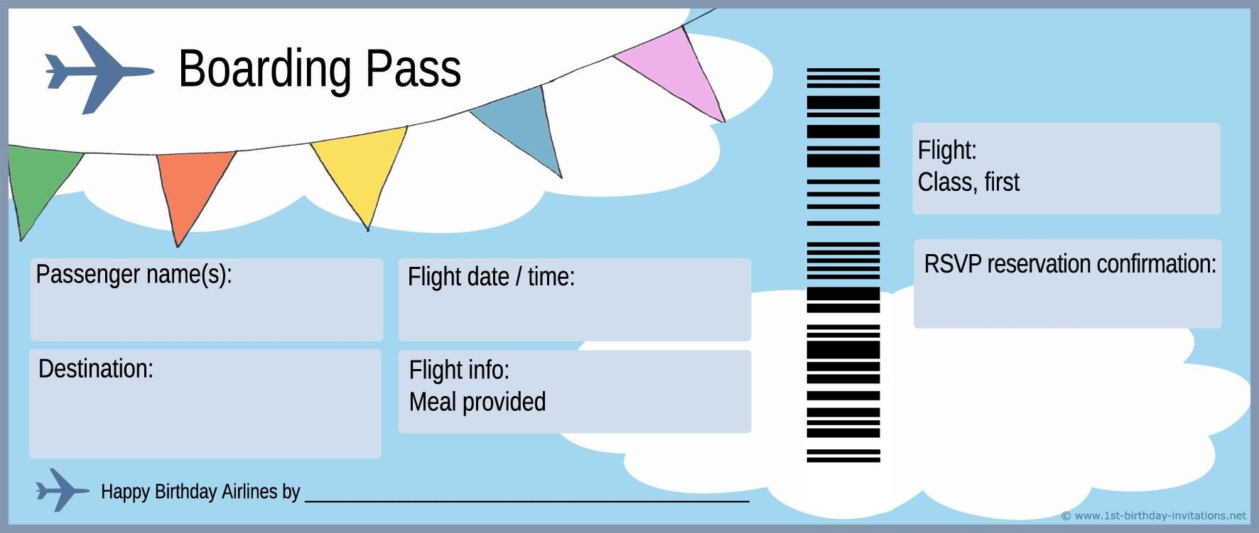 Free Boarding Pass Template Free Boarding Pass Template Google Search