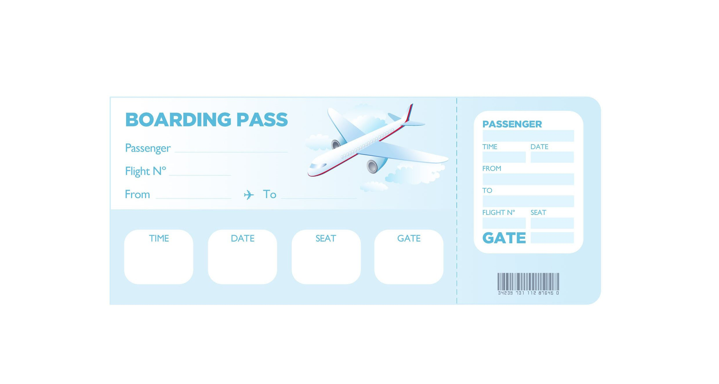 Free Boarding Pass Template Super Fun Summer Challenge 2014 Week 3 – Her Life Inspired