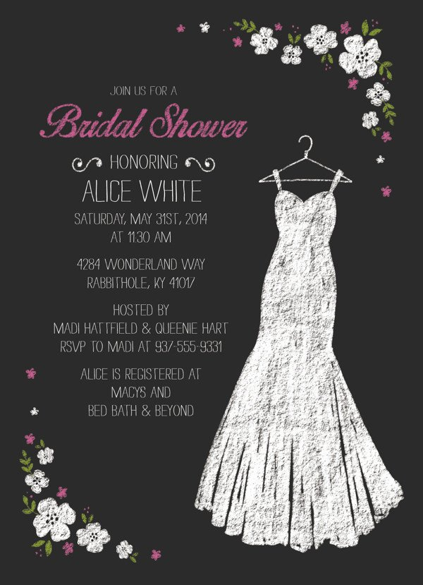 Free Bridal Shower Invitation Templates 27 Wedding Shower Invitation Templates Psd Ai Vector