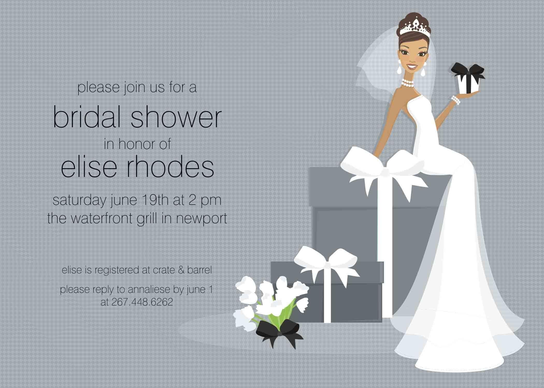 Free Bridal Shower Invitation Templates Free Bridal Shower Invitation Templates