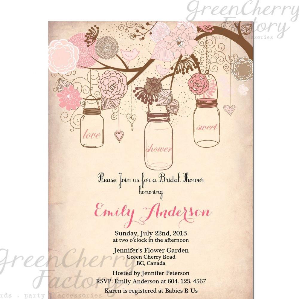 Free Bridal Shower Invitation Templates Vintage Bridal Shower Invitation Templates Free
