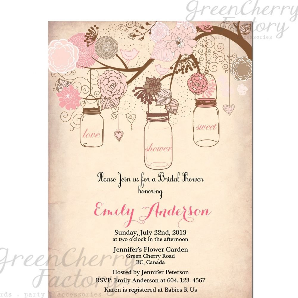 Free Bridal Shower Templates Vintage Bridal Shower Invitation Templates Free