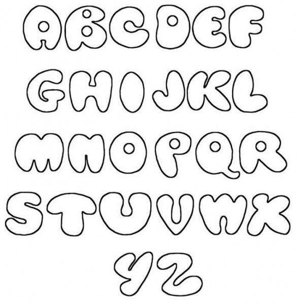 Free Bubble Letters Fonts 1000 Ideas About Bubble Letters On Pinterest