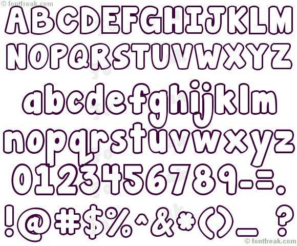 Free Bubble Letters Fonts 17 Best Ideas About Bubble Letter Fonts On Pinterest