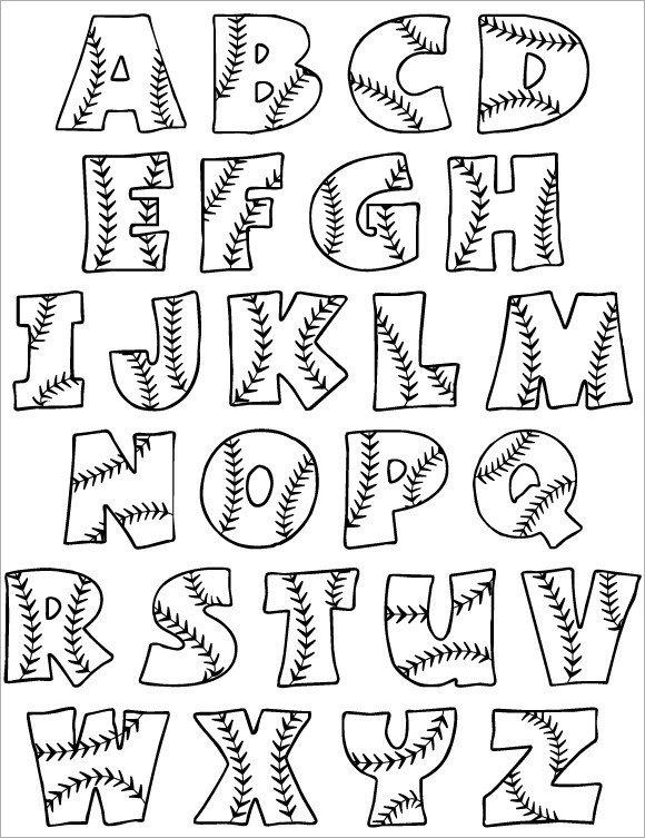 Free Bubble Letters Fonts 30 Alphabet Bubble Letters Free Alphabet Templates