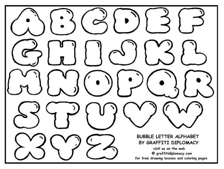 Free Bubble Letters Fonts Best 25 Easy Graffiti Drawings Ideas On Pinterest