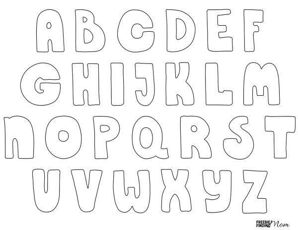 Free Bubble Letters Fonts Free Printable Bubble Letters
