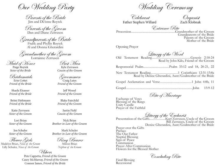 Free Catholic Wedding Ceremony Program Template Best 25 Wedding Church Programs Ideas On Pinterest
