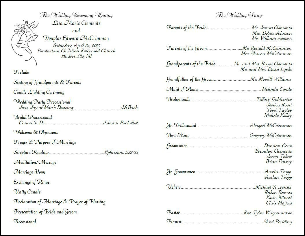 Free Catholic Wedding Ceremony Program Template Custom Design Wedding Programs Programs for Weddings