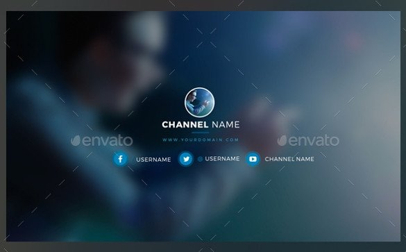 Free Channel Art Template 25 Channel Art Templates – Free Sample Example