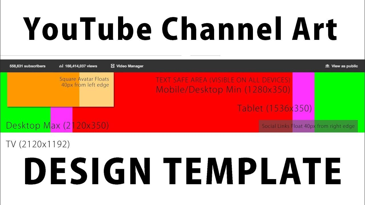 """Free Channel Art Template Free Channel Art Template for New """" E Channel"""