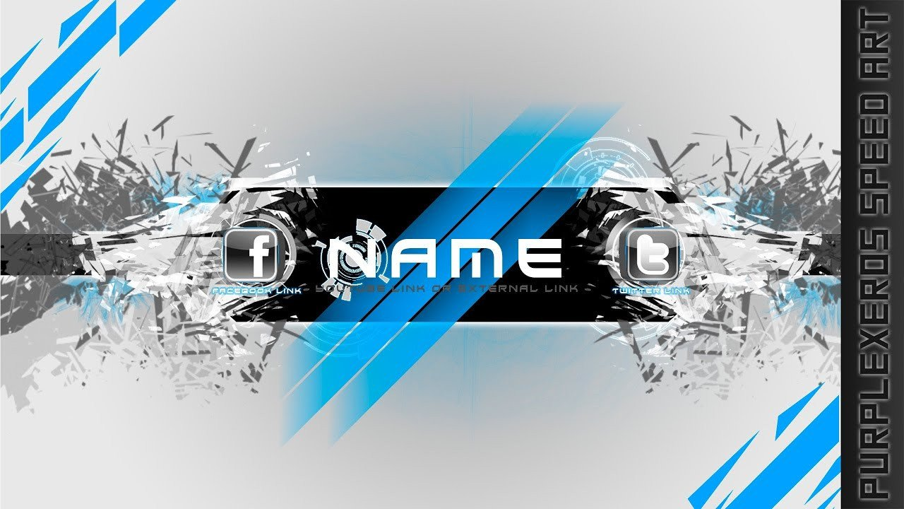 Free Channel Art Template Free to Use Channel Art Template Elegant Shatter