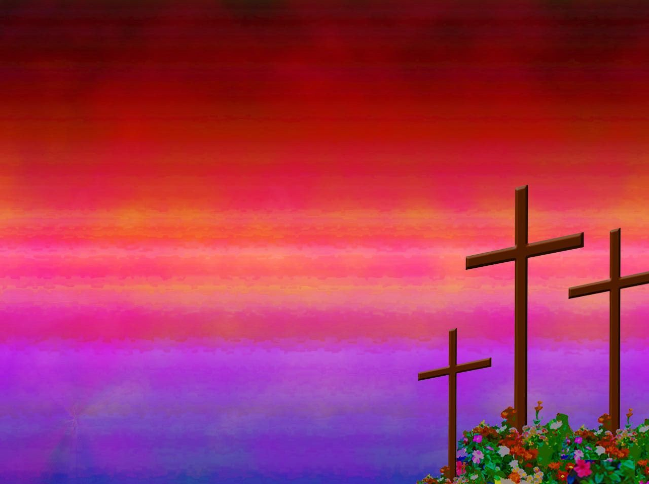 Free Christian Powerpoint Templates Christian Rose Garden Powerpoint Background Available In