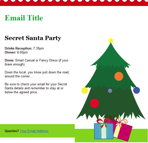 Free Christmas Email Template Christmas Email Template Tree Free Group Email and Mass
