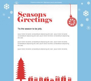 Free Christmas Email Template New Festive and Free – Christmas Email Marketing