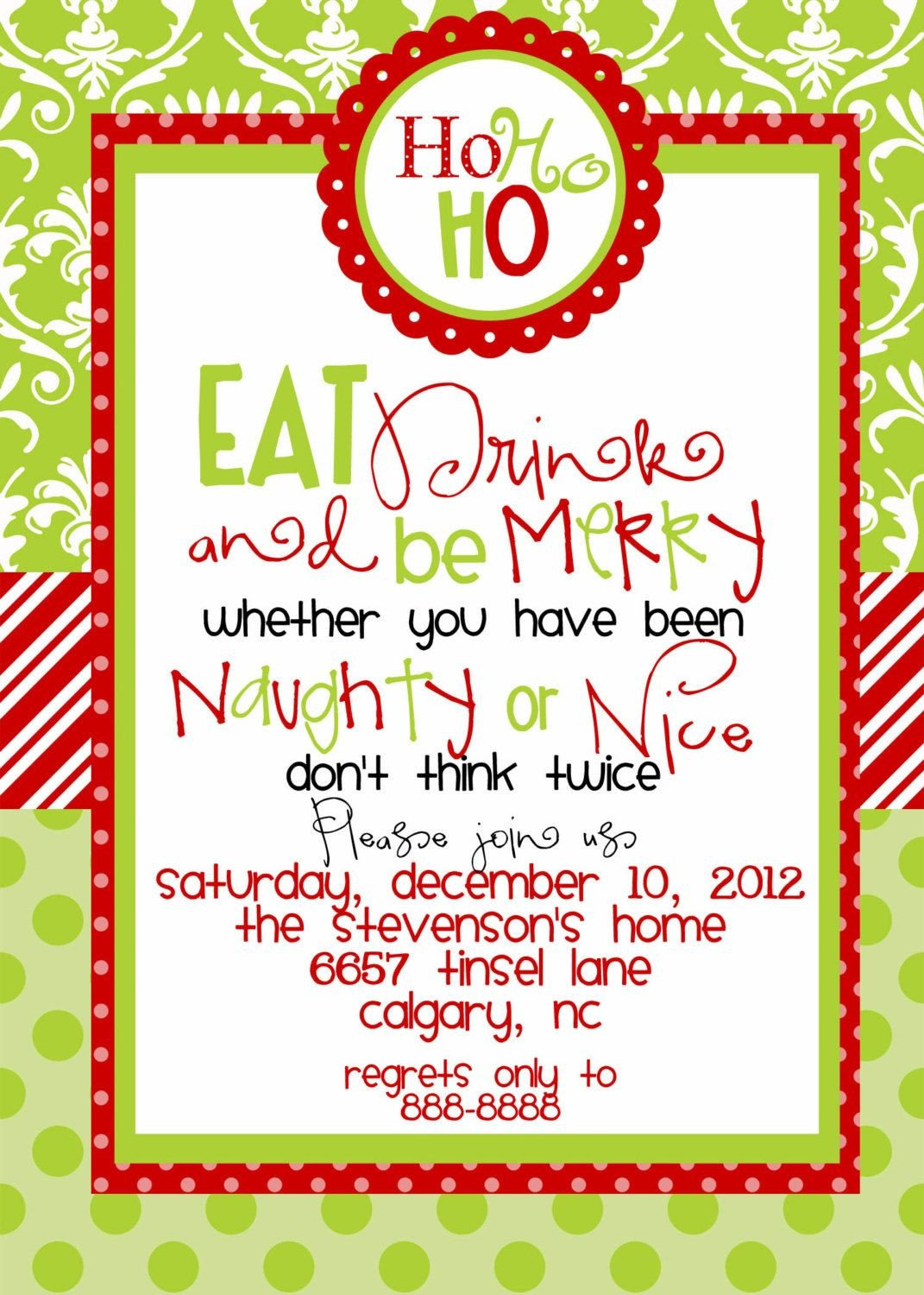 Free Christmas Party Invitation Templates Christmas Party Invitations Templates Free Printables