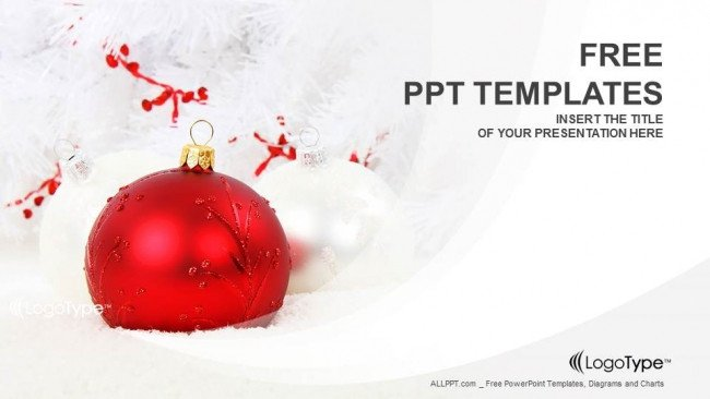 Free Christmas Powerpoint Templates Christmas Decoration Powerpoint Templates