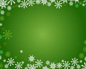 Free Christmas Powerpoint Templates Christmas Snowflakes Ppt