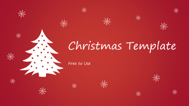 Free Christmas Powerpoint Templates Free Christmas Powerpoint Template